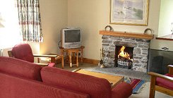 Ben Lawers Cottage Sitting Room